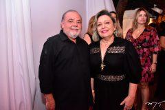 Paulo Carapeba e Fernanda Jensen