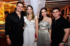 Rodrigo Junqueira, Yasmim Magalhaes, Nicole Vasconcelos e Pedro Paulo Carapeba