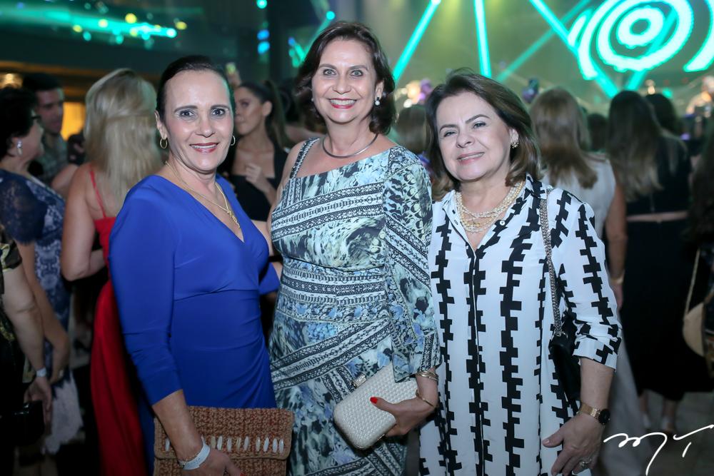 Berna Gurgel, Marilena Campos e Nilte Barbosa