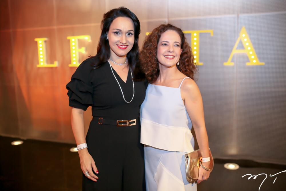 Carmen Pompeu e Camila Cavalcante