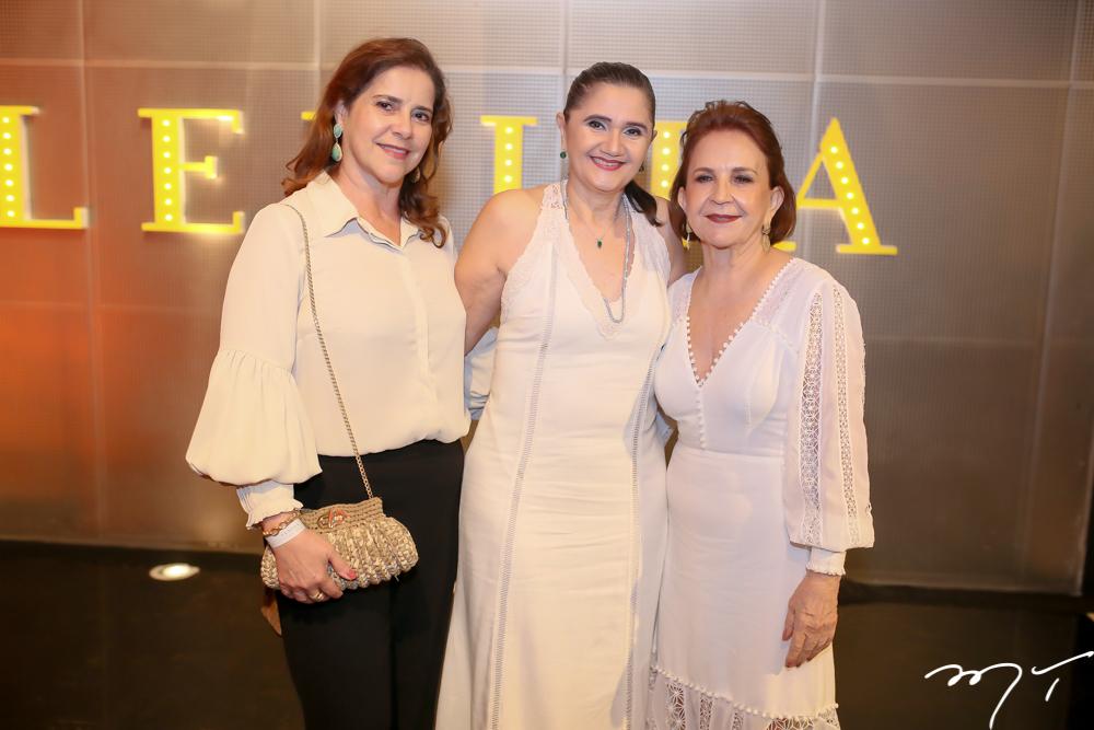 Ines Martins, Leninha Marinho e Lenita Negrão