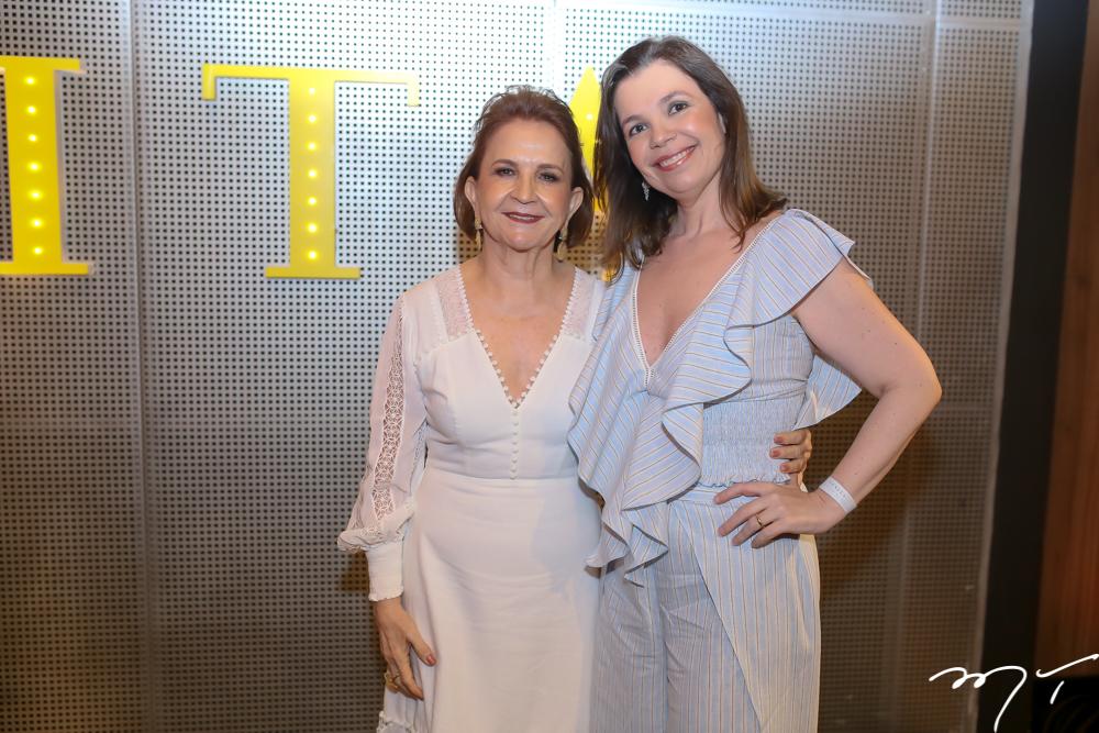 Lenita Negrão e Janaina Bezerra