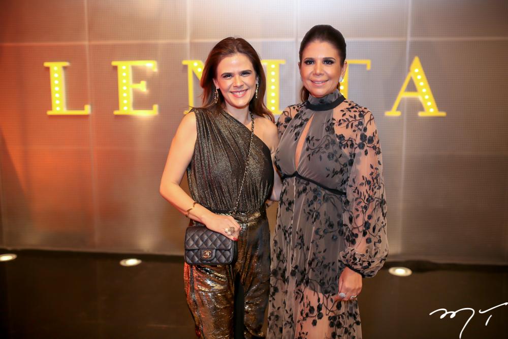 Niedja Bezerra e Maria Lucia Negrão