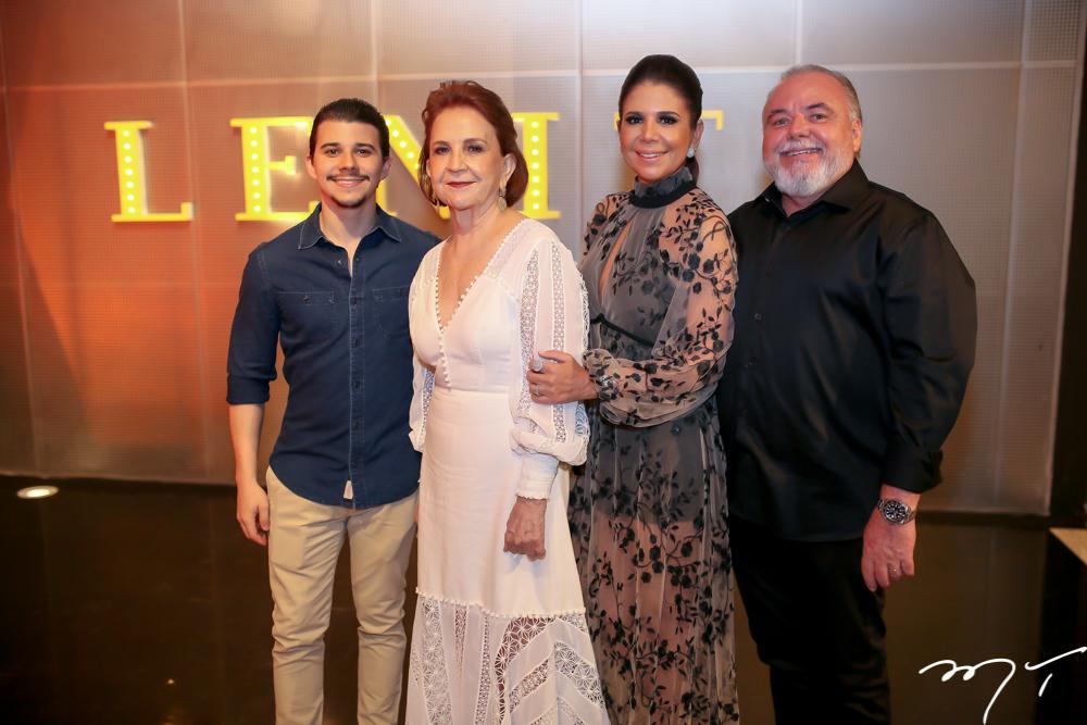 Pedro,Lenita e Maria Lucia Negrão e Pedro Carapeba