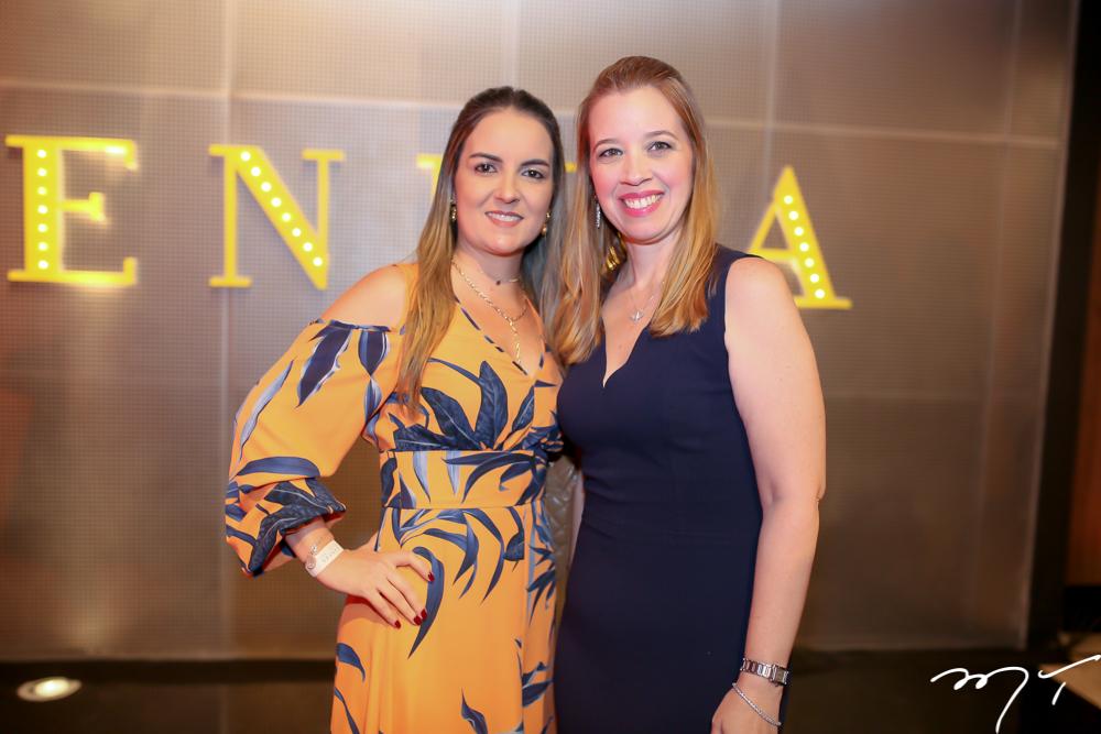 Raquel Vasconcelos e Mariana Fiuza