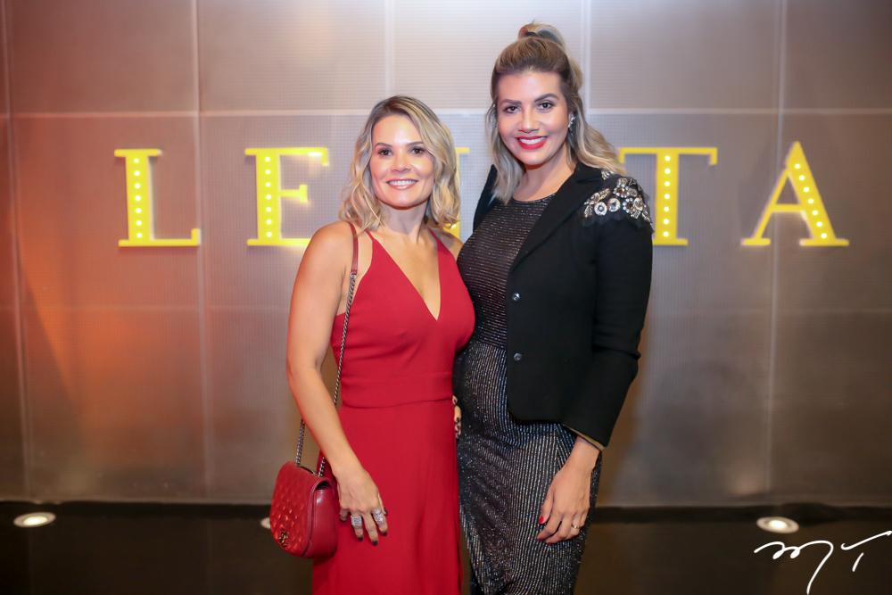 Rita Rios e Ana Elise Barreira