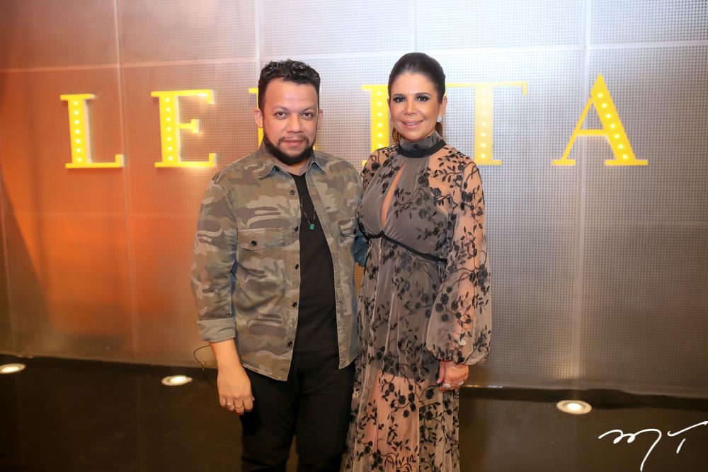 Roberto Alves e Maria Lucia Negrão