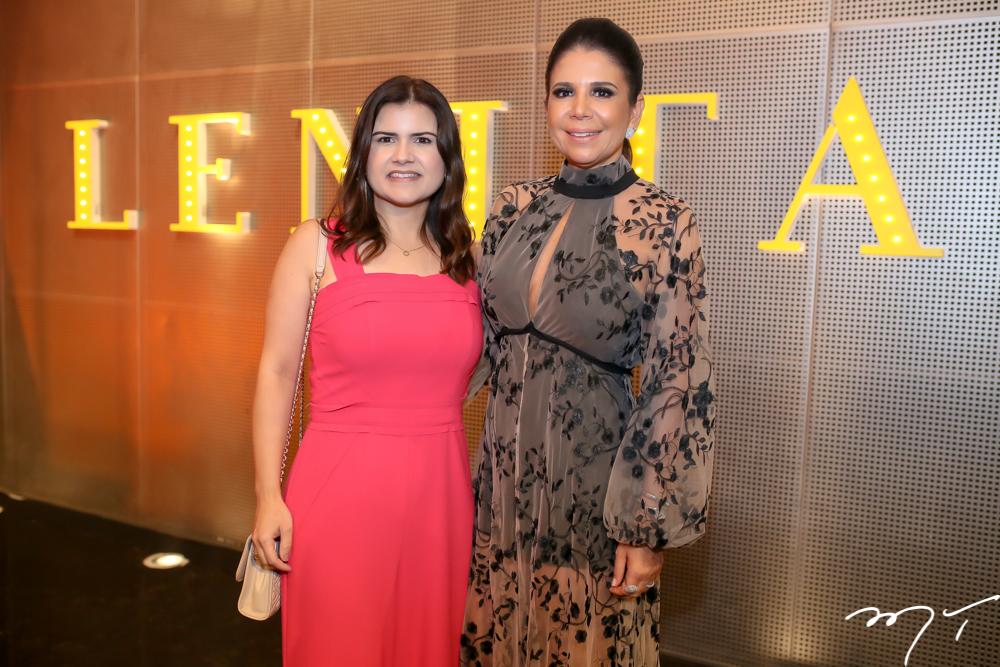 Ticiane Brigido e Maria Lucia Negrão