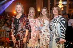 Alexandrina Aguiar, Excelsa Costa Lima,Rosagela Defrancesco e Geni Correia Lima