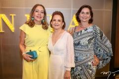 Ana Alcantra, Lenita Negrão e Marilena Campos