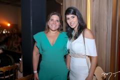 Gisele Vieira e Flavia Laprovitera