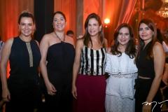 Jeritza Gurgel, Elisa Oliveira, Ana Virginia Martins, Martinha Assunção e Lorena Pouchain