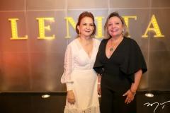 Lenita Negrão e Fernanda Carapeba