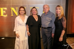 Lenita Negrão, Fernanda e Paulo Carapeba, Leda Guillemette