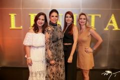 Martinha Assunção, Maria Lucia Negrão, Lorena Pouchain e Germana Wanderley