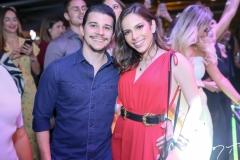 Pedro Negrão e Nicole Vasconcelos