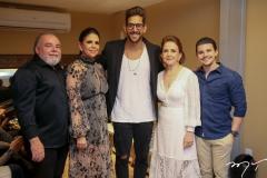 Pedro Carapeba, Maria Lucia Negrão, Felipe Pezzoni, Lenita e Pedro Negrão