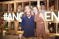 Ângela Bastos e Romina Lotif