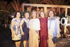 Beth Barros, Nair Pontes, Cláudia Cavalcante, Vera Bizarria e Márcia Gadelha