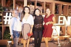 Beth, Joana Távora, Carol Castro e Nicole Lobo