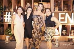 Claudiana Loureiro, Adriana Queiroz, Jeritza Gurgel e Ana Zélia Gadelha