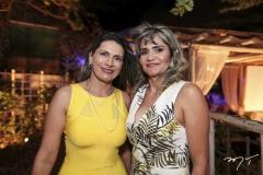 Cristiane Fraga e Eunice Santos
