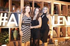 Fabíola Cruz, Fabíola Fonseca e Carol Picanço