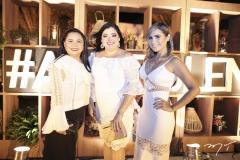 Kelly Oliveira, Viviane Almada e Grazi Nogueira