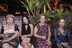 Maria do Carmo, Sílvia Egídio, Ana Fiúza e Zenilda Egídio