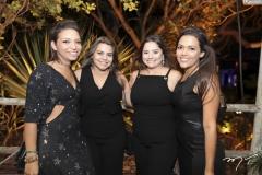 Mariana Queiroz, Renata Benevides, Karla Rodrigues e Lorrane Mendonça