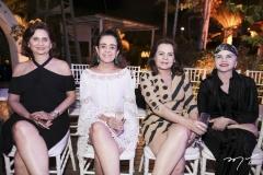 Marilena Campos, Simone Rizzato, Nilce Barbosa e Rose Catunda