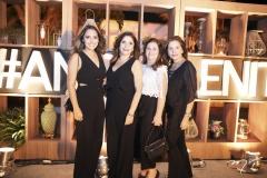 Natália Holanda, Cristiane Figueiredo, Naise Moreira e Tatiana Otoch