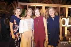 Neila Timbó, Cláudia Cavalcante, Vera Bizarria e Fátima Albuquerque