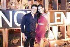 Pedro Paulo Negrão e Nicole Vasconcelos
