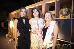 Priscila, Fernanda Levy e Edith Castro