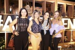 Sabrina de Paula, Tayane Frota, Larissa Braga e Cindy Figueroa