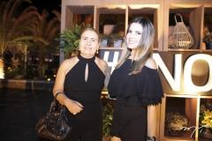 Socorro Portela e Kercia Cardoso
