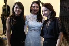 Aline Beniguino,  Maria Lúcia Negrão e Sheila Brasil