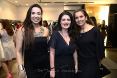 Ana Paula Martan, Aline Feitosa e Wyara Cabral