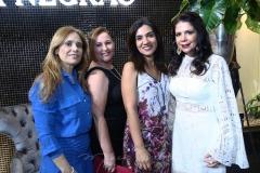 Aumerinda Oliveira, Laíse Moreira, Gisele Brasil e Maria Lúcia Negrão