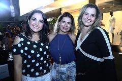 Cláudia Pedrosa, Cristiane Fraga e Cristina Pinheiro