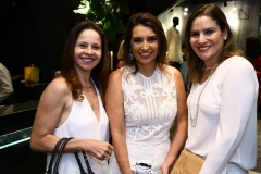 Claudiana Juaçaba,  Márcia Travessoni e Luciana Borges
