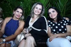Cristiane Fraga, Cristina Pinheiro e Cláudia Pedrosa