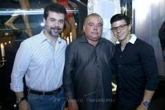 Duda Brígido, Pedro Carapeba e Pedro Paulo Negrão