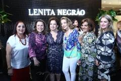 Edina Marques, Nair Ponte, Lenita Negrão, Zenilda Egídio, Bernardete Queiroz e Ângela Santana
