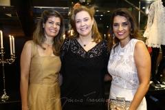 Élida Escócia, Andréa Delfino e Márcia Travessoni