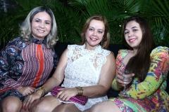 Geisa Sousa, Rita Fausto e Larissa Feliciano