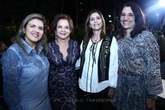 Hecília Paz, Lenita Negrão, Fátima Távora e Leila Machado