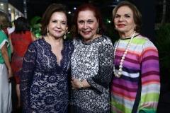 Lenita Negrão, Ângela Cisne e Márcia Gadelha