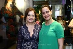 Lenita Negrão e Luciana Porteus